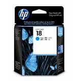 HP Cyan Ink Cartridge 18 [C4937A]